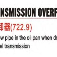 TRANSMISSION OVERFLOW PIPE REMOVER For BENZ BY JTC 1420
