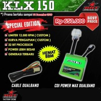 CDI Power Max dual band kawasaki klx 150 merk brt
