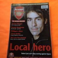 majalah import Arsenal official magazine
