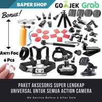 Full Set Accecories Action Camera Gopro Xiaomi Yi Brica Bpro Sjcam