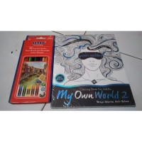 My Own World (Coloring Book For Adults)