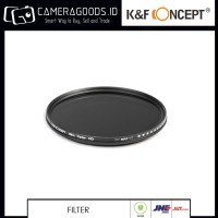 K&F ND2 To ND400 Variable Neutral Density ND 82mm