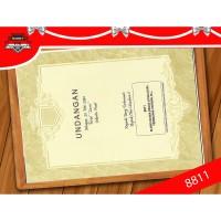 Kartu Undangan Pernikahan Plus Cetak Series 8811
