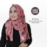RIRIN - by Luulu Scarf - Jilbab Pashmina Motif Import Katun