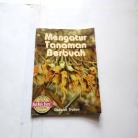 buku mengatur tanaman berbuah, buku bekas lawas klasik jadul 2000