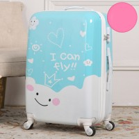 Nanmma Cute 3D Giraffe Pattern Luggage Protector Travel Luggage Cover Trolley Case Protective Cover Fits 18-32 Inch