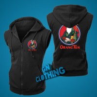 Vest Zipper jaket rompi cap orangtua logo - Gn CLOTHING