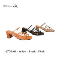 ICONinety9-Sandal Transparan Heels Kotak Tahu 6701A8