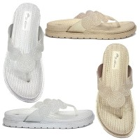 Dr. Kevin Women Flat Sandals 571-529 2 Color Options - Silver Gold