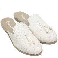 Dr. Kevin Women Bustong Sandals 26139 - White