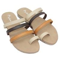 Dr. Kevin Women Flat Sandals 57029 - Cream