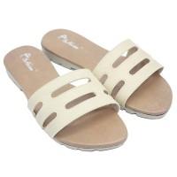 Dr. Kevin Women Flat Sandals 57033 - Cream