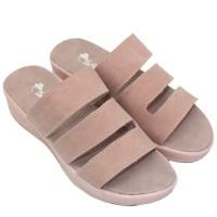Dr. Kevin Women Flat Sandals 27393 - Pink