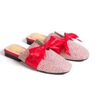 Polla Polly - Rossa Red - Sandal Selop Wanita