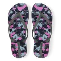 Ipanema Ladies Trendy Flip Flop Sandal Wanita - Black Green