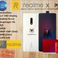 Realme X Ram 8/128GB Spiderman Edition Garansi Resmi