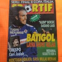 majalah jadul sportif april 1999