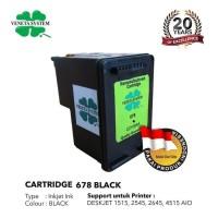 Veneta System Cartridge Inkjet HP678 (CZ107AA) Black - Remanufactured