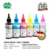 TINTA INFUS / CISS T SERIES - T0731 T0732 T0733 T0734 - 70 ML