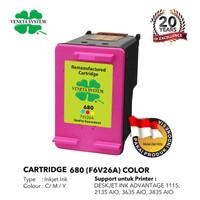 VenetaSystem - Cartridge HP680 (F6V26A) - Remanufactured-Color