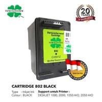 TINTA / CARTRIDGE HP 802 BLACK