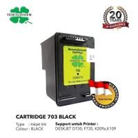 Veneta System - Cartridge HP 703B - Remanufactured - Black