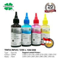 TINTA INFUS / CISS EPSON L100 L110 L120 L200 L210 L220 - 70 ML