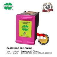 TINTA / CARTRIDGE HP 802 COLOR