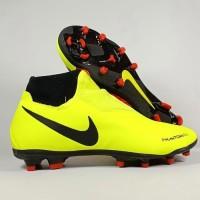 Sepatu Soccer Phantom VSN Academy DF Volt Black FG Replika Impor