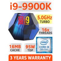 Intel Core i9-9900K 3.6Ghz [Box] Socket LGA 1151 - Coffeelake Series