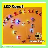 Suka: 1 Share ke A1-63 LED Dekorasi Kupu - Kupu / LED Butterfly / LED - RANDOM