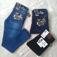 Celana jeans pria Celana jeans panjang slim fit