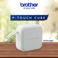 BROTHER PT-P710BT PTouch Cube Printer Label Portable Bluetooth P710 BT