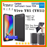 Casing SoftCase iPaky Vivo Y81/Y81i 6.22inchi | Case Vivo Y81