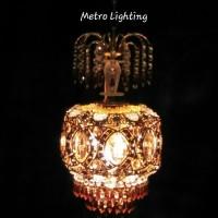 Lampu Gantung Kristal 8918-7 GD