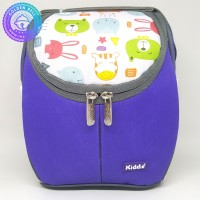 Tas Susu ASI dan Makanan Bayi Thermal Kiddy Cooler Bag Selempang Ungu