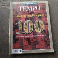 tempo edisi khusus Indonesia yang kuimpikan
