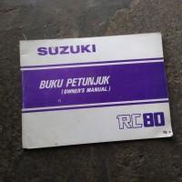 owner manual suzuki rc 80