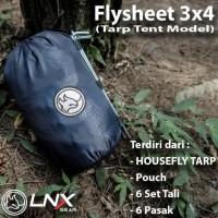 Flysheet LNX Gear Tarp Tent Model