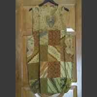 Dress batik lawas batik lawasan khas jogja 419