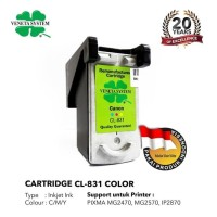 Veneta System Cartridge Inkjet Canon CL831 Color - Remanufactured
