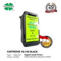 Veneta System - Cartridge Canon CL 745 - Remanufactured - Black