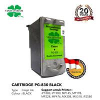 Veneta System Cartridge Inkjet Canon PG830 Black - Remanufactured