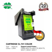 Veneta System - Cartridge Canon CL 741 - Remanufactured - Color