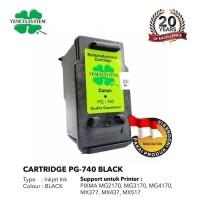 Veneta System - Cartridge Canon CL 740 - Remanufactured - Black