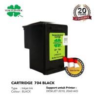 TINTA / CARTRIDGE HP 704 BLACK