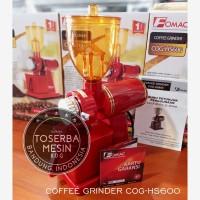 Fomac coffee grinder mesin giling kopi COG HS600 red