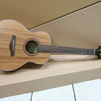 Gitar Akustik Cowboy Original Tipe GW-3 Natural 3per4 Solid Murah