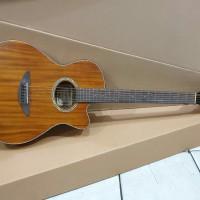 Gitar Akustik Camwood Original Tipe IWC-38 Coklat Tua Solid Murah