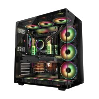 PRIME Z-[T] - FULL VIEW CHASSIS WITH TRANSPARANT TEMPERED GLASS